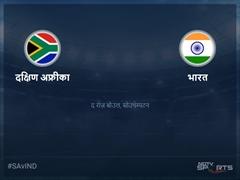 भारत बनाम दक्षिण अफ्रीका लाइव स्कोर, ओवर 46 से 50 लेटेस्ट क्रिकेट स्कोर अपडेट