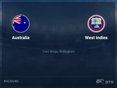 West Indies vs Australia Live Score, Over 46 to 50 Latest Cricket Score, Updates