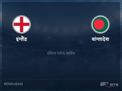 बांग्लादेश बनाम इंग्लैंड लाइव स्कोर, ओवर 46 से 50 लेटेस्ट क्रिकेट स्कोर अपडेट