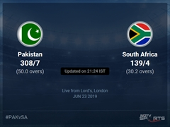 Pakistan vs South Africa Live Score, Over 26 to 30 Latest Cricket Score, Updates
