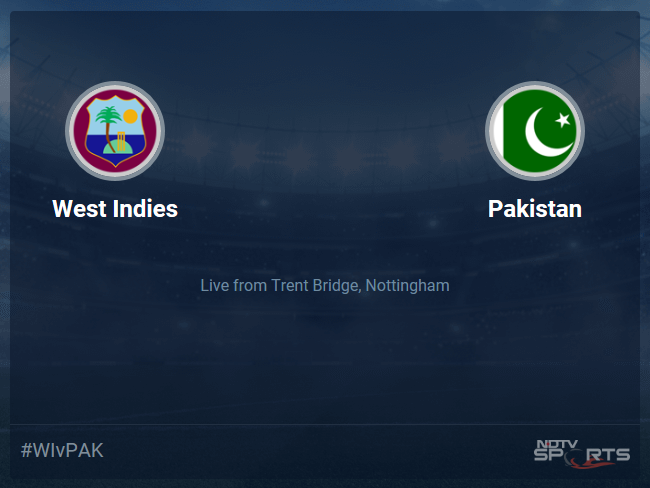 West Indies vs Pakistan Live Score, Over 21 to 25 Latest Cricket Score, Updates