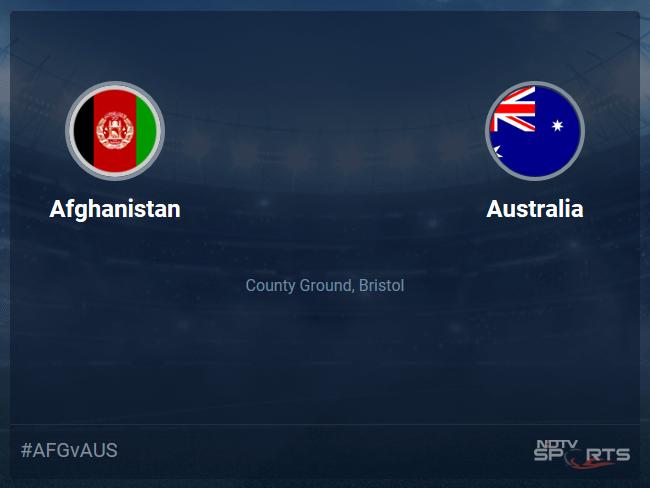 Afghanistan vs Australia Live Score, Over 31 to 35 Latest Cricket Score, Updates