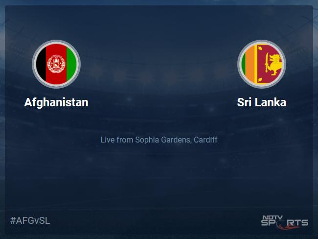 Sri Lanka vs Afghanistan Live Score, Over 36 to 40 Latest Cricket Score, Updates