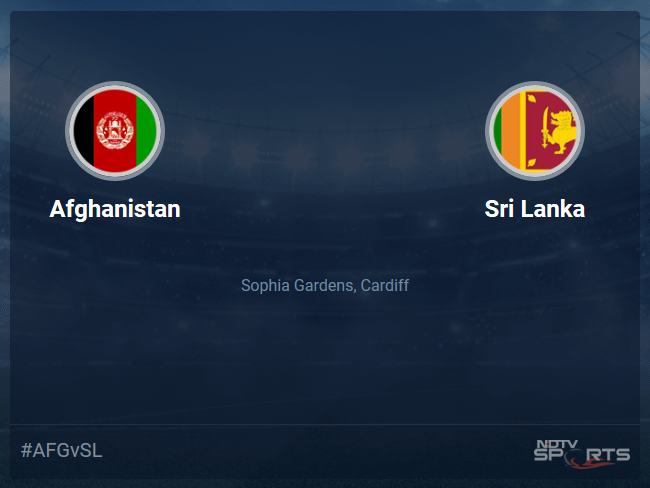 Sri Lanka vs Afghanistan Live Score, Over 31 to 35 Latest Cricket Score, Updates