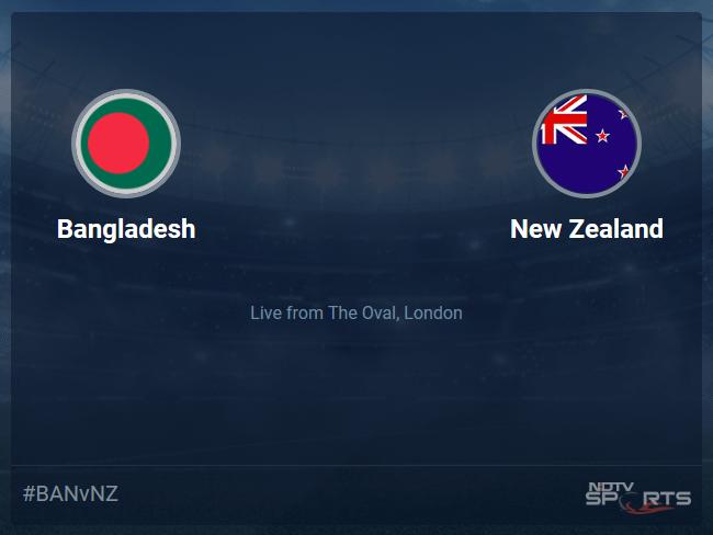 New Zealand vs Bangladesh Live Score, Over 46 to 50 Latest Cricket Score, Updates