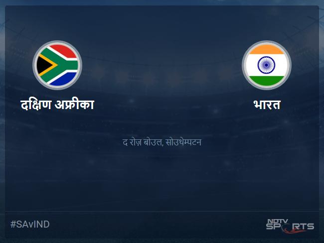 South Africa vs India live score over Match 8 ODI 46 50 updates