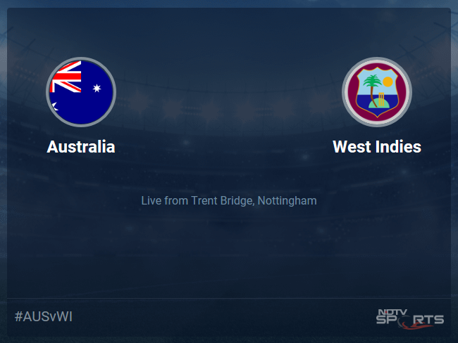 Australia vs West Indies Live Score, Over 46 to 50 Latest Cricket Score, Updates