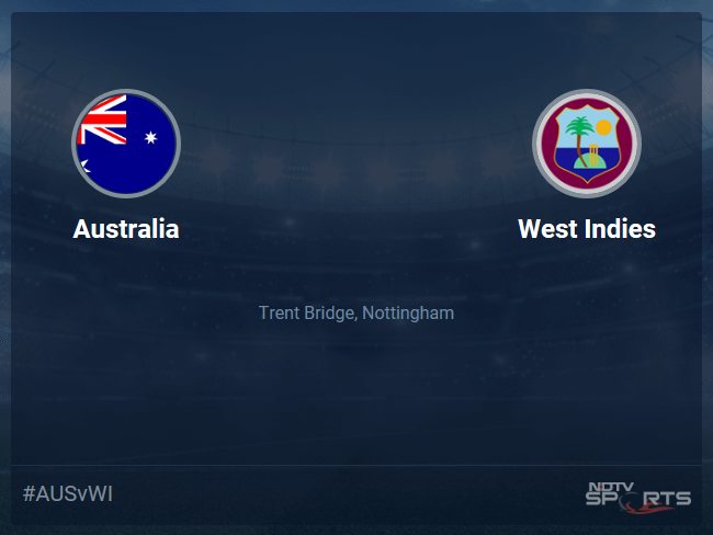 West Indies vs Australia Live Score, Over 46 to 50 Latest Cricket Score, Updates
