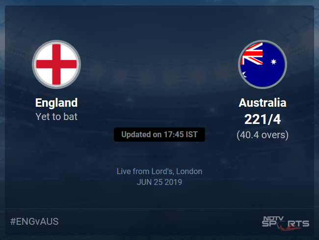 Australia vs England Live Score, Over 36 to 40 Latest Cricket Score, Updates