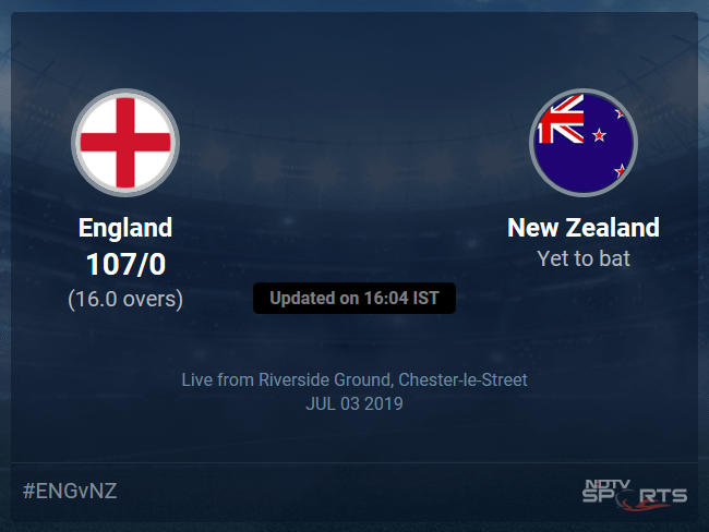 New Zealand vs England Live Score, Over 11 to 15 Latest Cricket Score, Updates