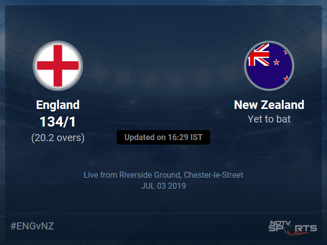England vs New Zealand Live Score, Over 16 to 20 Latest Cricket Score, Updates