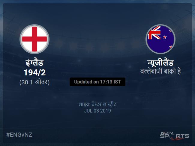 England vs New Zealand live score over Match 41 ODI 26 30 updates