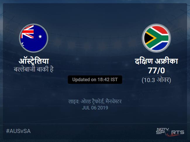Australia vs South Africa live score over Match 45 ODI 6 10 updates