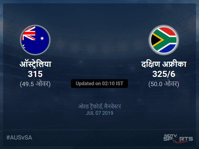 Australia vs South Africa live score over Match 45 ODI 46 50 updates