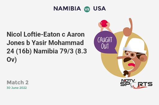 BAN vs NZ: Match 9: WICKET! Mosaddek Hossain c Martin Guptill b Trent Boult 11 (22b, 0x4, 0x6). बांग्लादेश 224/7 (46.2 Ov). CRR: 4.83