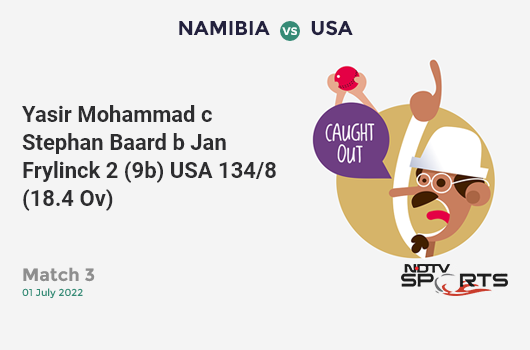 AUS vs WI: Match 10: Nathan Coulter-Nile hits Carlos Brathwaite for a 4! Australia 276/8 (46.3 Ov). CRR: 5.93