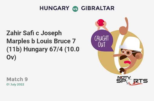 AUS vs WI: Match 10: Chris Gayle hits Pat Cummins for a 4! West Indies 27/1 (4.0 Ov). Target: 289; RRR: 5.70