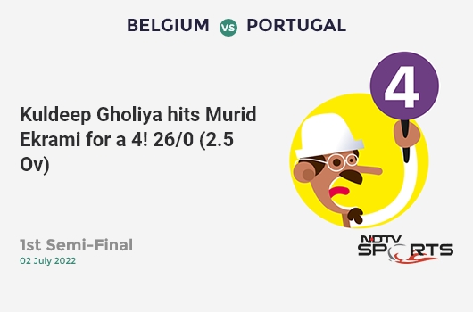 SA vs WI: Match 15: Aiden Markram hits Kemar Roach for a 4! South Africa 17/1 (4.0 Ov). CRR: 4.25