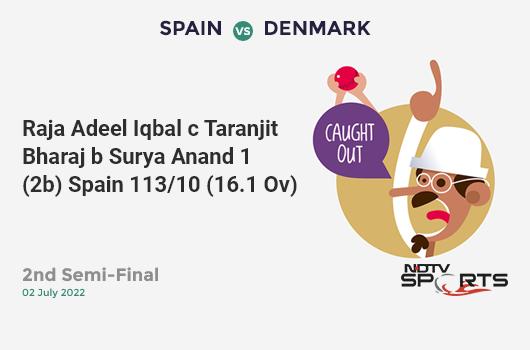 AUS vs PAK: Match 17: WICKET! Mohammad Amir b Mitchell Starc 0 (2b, 0x4, 0x6). पाकिस्तान 265/9 (44.4 Ov). Target: 308; RRR: 8.06