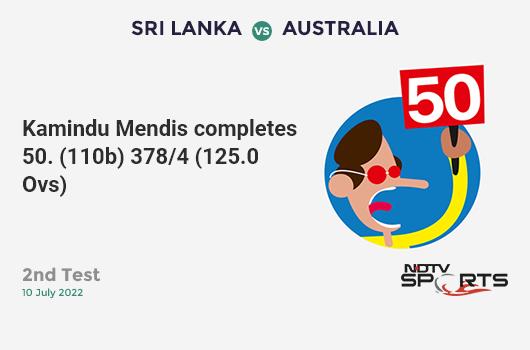 ENG vs SL: Match 27: WICKET! Eoin Morgan c & b Isuru Udana 21 (35b, 2x4, 0x6). इंग्लैंड 73/3 (18.4 Ov). Target: 233; RRR: 5.11