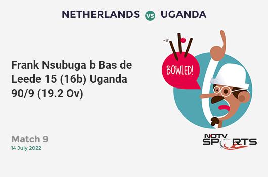 SL vs WI: Match 39: Kusal Perera hits Shannon Gabriel for a 4! Sri Lanka 55/0 (10.4 Ov). CRR: 5.15