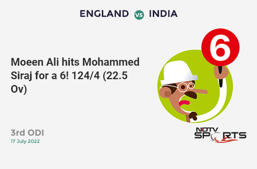 AUS vs ENG: 2nd Semi Final: Jason Roy hits Marcus Stoinis for a 4! England 140/1 (18.1 Ov). Target: 224; RRR: 2.64