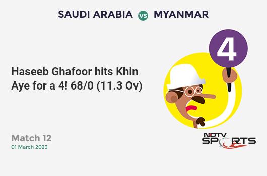 IND vs AUS: 2nd ODI: Kane Richardson hits Mohammed Shami for a 4! Australia 290/9 (48.3 Ov). Target: 341; RRR: 34.00