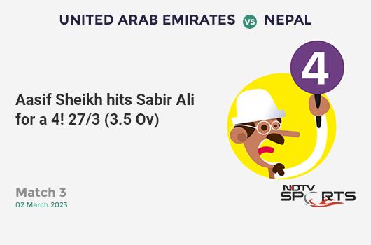 IND vs AUS: 3rd ODI: It's a 100! Rohit Sharma hits a ton (110b, 8x4, 5x6). India 154/1 (29.2 Ovs). Target: 287; RRR: 6.44
