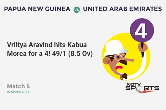 NZ vs IND: 1st ODI: WICKET! Colin de Grandhomme run out (Shreyas Iyer) 1 (2b, 0x4, 0x6). न्यूज़ीलैंड 331/6 (46.0 Ov). Target: 348; RRR: 4.25