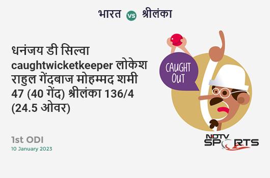 IND vs WI: 3rd ODI: Virat Kohli hits Khary Pierre for a 4! India 262/5 (42.5 Ov). Target: 316; RRR: 7.53