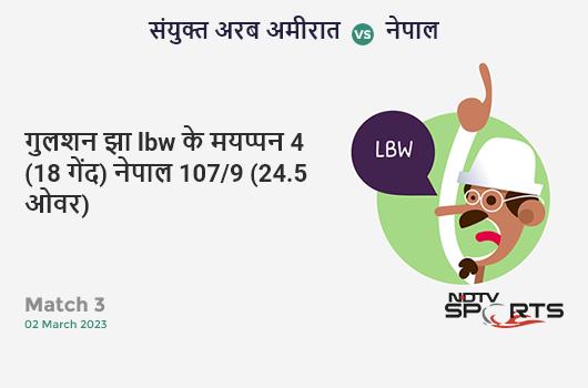 IND vs AUS: 3rd ODI: Shreyas Iyer hits Josh Hazlewood for a 4! India 246/2 (43.0 Ov). Target: 287; RRR: 5.86