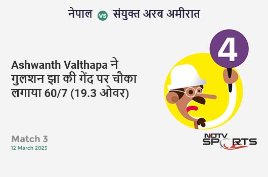 NZ vs IND: 5th T20I: It's a SIX! KL Rahul hits Scott Kuggeleijn. India 50/1 (5.1 Ov). CRR: 9.67